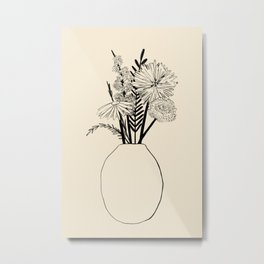 SPRING HOME Metal Print