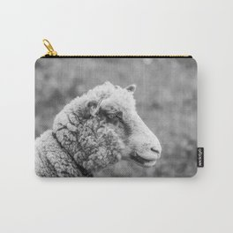 Silence of the Lamb | Black and White Carry-All Pouch