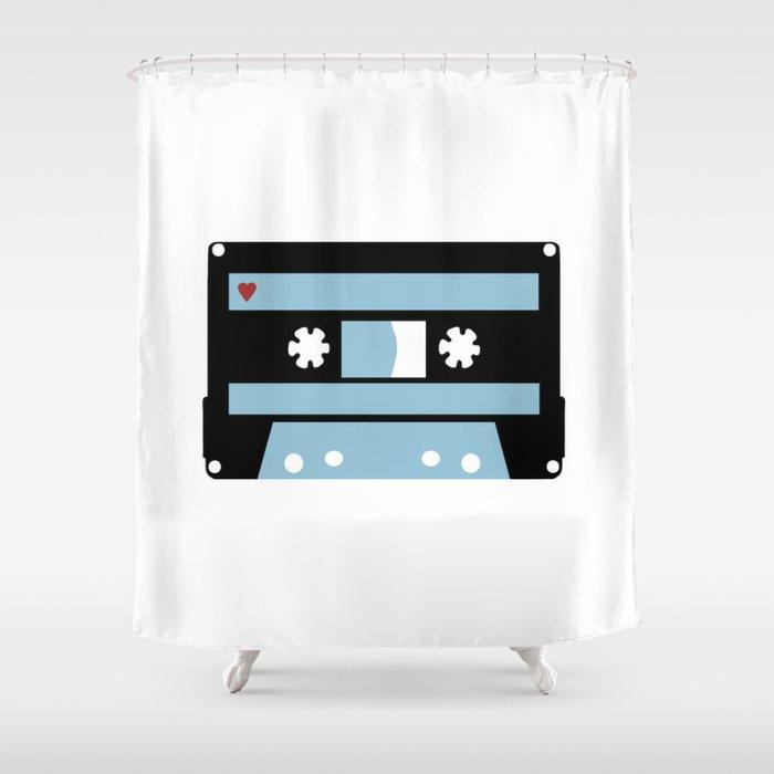 Love Tape Shower Curtain