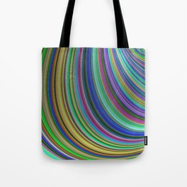 Striped fantasy Tote Bag