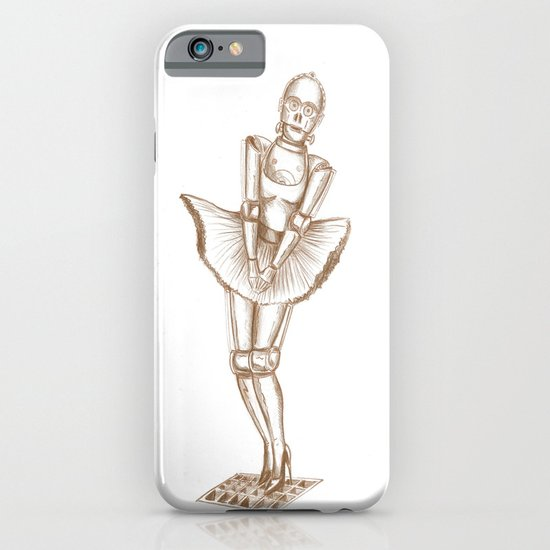 C3PO Monroe iPhone & iPod Case