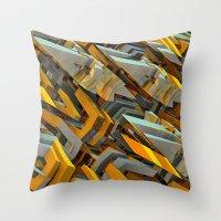 transformer Throw Pillows featuring Transformer Fish by Kunstbehang / Edwin van Munster