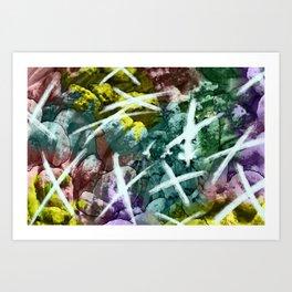 Tic-tac-toe Art Print
