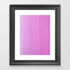 Ombre Framed Art Print