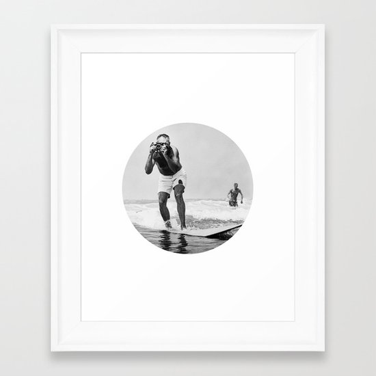 The Surfing Photographer by laurenjanemitchell