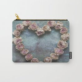 Heart of Roses Carry-All Pouch