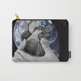 J'ai le mal de toi (I ache for you, I miss you so much it hurts) Carry-All Pouch