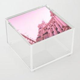 Pink Madrid Acrylic Box