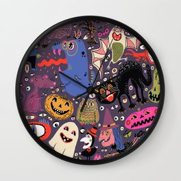 Yay for Halloween! Wall Clock
