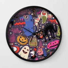 Yay for Halloween! Wall Clock