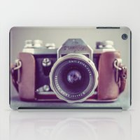 vintage camera iPad Cases featuring Vintage Camera by Juste Pixx Photography