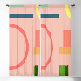 Modern Geometric 70 Blackout Curtain