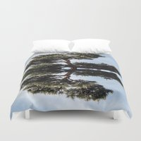 meditation Duvet Covers featuring Meditation by Augustine
