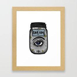 Dream Eye Framed Art Print