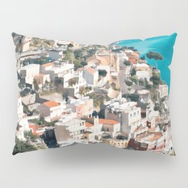 Italy. Amalfi Upside Pillow Sham