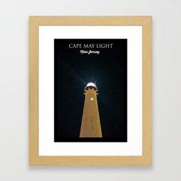 Cape May. Framed Art Print