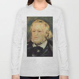 Richard Wagner (1813 – 1883) by Auguste Renoir (1841 - 1919) in 1882 Long Sleeve T-shirt