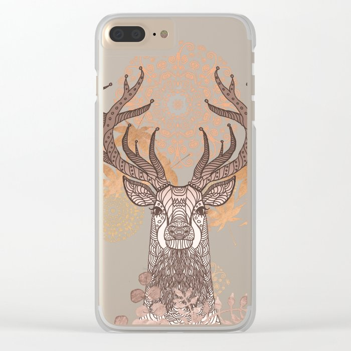 THE FRIENDLY STAG Clear iPhone Case