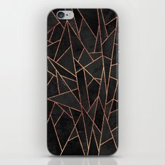 Shattered Black / 2 iPhone & iPod Skin