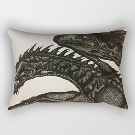 Beastly Dragon Rectangular Pillow