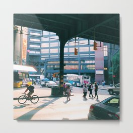 Flushing Avenue Metal Print