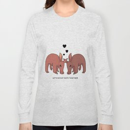 Flirty Aardvarks Long Sleeve T-shirt