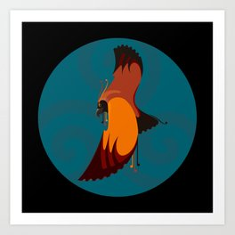 Haast Eagle Art Print