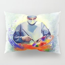 The Art of Medicine Pillow Sham