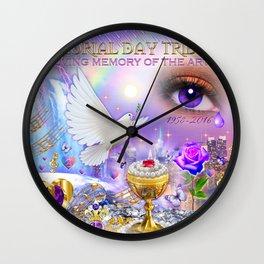 Study Peace, Love & Unity Wall Clock
