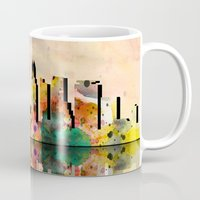 miami Mugs featuring miami  by mark ashkenazi