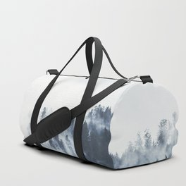 Foggy Forest Calm Landscape Duffle Bag