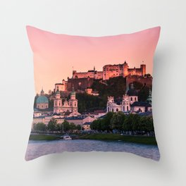 SALZBURG 01 Throw Pillow