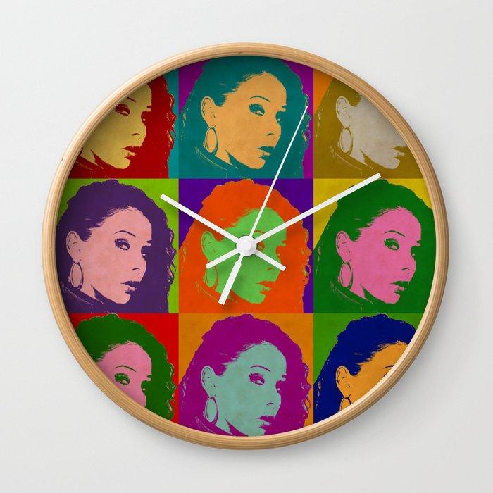 Gianna Michaels Wall Clock