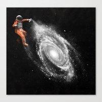 Canvas Prints featuring Space Art by Florent Bodart / Speakerine