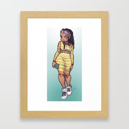 Out for the Night Framed Art Print