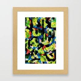 Pattern № 53 Framed Art Print
