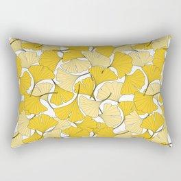 ginkgo leaves (yellow) Rectangular Pillow