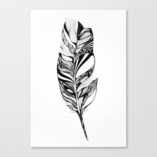 Feather - Lucidity Canvas Print