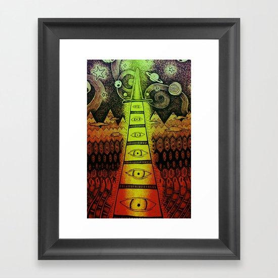 TIMEWIZARD Framed Art Print