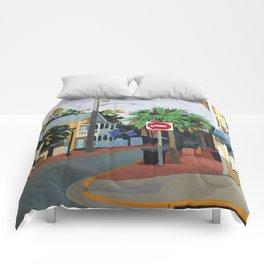 Corner Palm Comforters