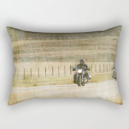 Get your motor running... Rectangular Pillow
