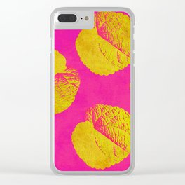 Leaves 5 ZZ Clear iPhone Case