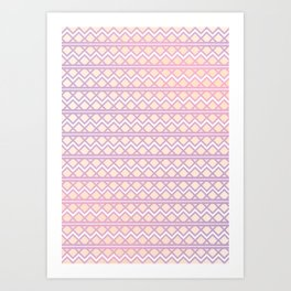 buffting Art Print