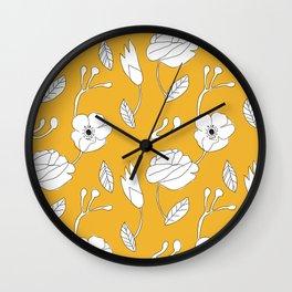 jaune Wall Clock