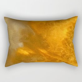 Aurora Borealis: Northern Lights Abstract Design Rectangular Pillow