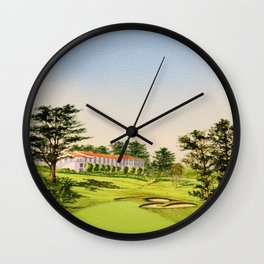 The Olympic Golf Course 18th Hole Wall Clock
