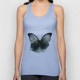 Double Butterfly Unisex Tank Top