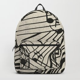 Music Notes Backpack