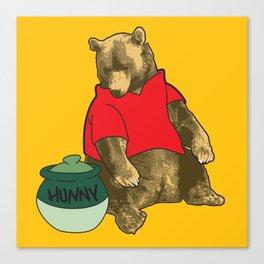 Pooh! Canvas Print