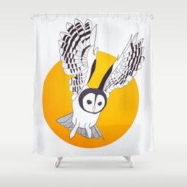YellOwl Shower Curtain
